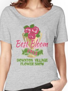 Downton Abbey Inspired - Downton Village Flower Show - Best Bloom - Grantham Cup Trophy Women's Relaxed Fit T-Shirt