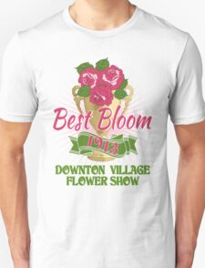 Downton Abbey Inspired - Downton Village Flower Show - Best Bloom - Grantham Cup Trophy Unisex T-Shirt