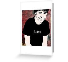 Elliott Smith Greeting Card