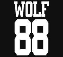 EXO Wolf 88 baseball t-shirt by Dayane Moraes