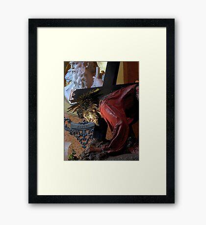 Gesu` Redentur Framed Print