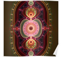The Ring, fractal abstract artwork Poster