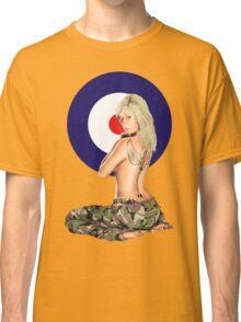 II Squadron RAF Regiment Pinup Classic T-Shirt