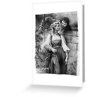 Courting II Greeting Card