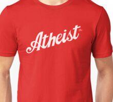 Classic Atheist Script by Tai's Tees Unisex T-Shirt