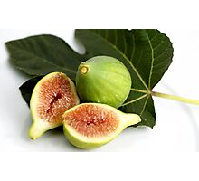 Green Fig Photographic Print
