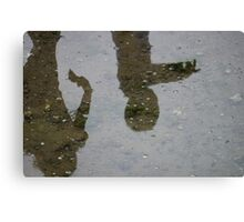 Reflections of childhood Canvas Print