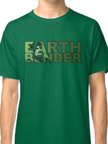 Earthbender Font with Bolin Classic T-Shirt
