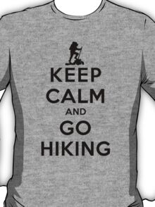 Keep Calm and Go Hiking(LS) T-Shirt