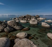 East Shore Lake Tahoe V by Richard Thelen