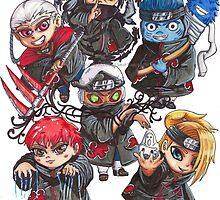 Akatsuki: Chibi Attack! by Pho3nixX08