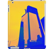 Blue Building iPad Case/Skin