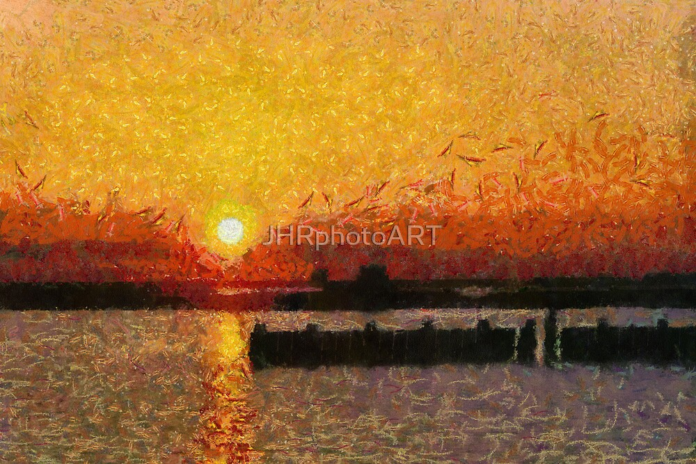 Low Country Sunrise by JHRphotoART