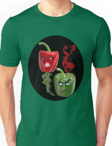 (✿◠‿◠) BELL PEPPERS WITH AN ATTITUDE TEE SHIRT (✿◠‿◠) Unisex T-Shirt