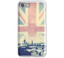 Sherlock London Union Jack iPhone Case/Skin