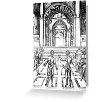 New School of Athens Greeting Card