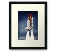 Space Shuttle 1981-2011 Framed Print