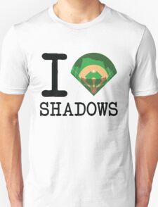 I ♦ Shadows (Light Version) T-Shirt
