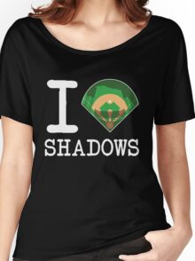 I ♦ Shadows (Dark Version) Women's Relaxed Fit T-Shirt