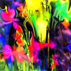 IMAGINATION OF AN ABSTRACT ARTIST by Sherri     Nicholas