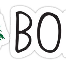 I Love Boise Sticker