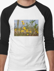 Seaside flora Men's Baseball ¾ T-Shirt