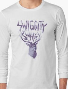 SWIGGITY SWAG I'M A STAG Long Sleeve T-Shirt