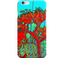 tree red 2 iPhone Case/Skin