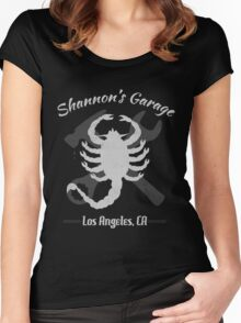Shannon's Garage Women's Fitted Scoop T-Shirt