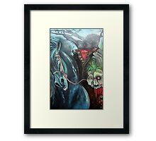 Headless Horseman Framed Print