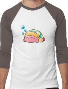 Sleeping Kirby Men's Baseball ¾ T-Shirt