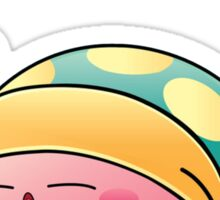 Sleeping Kirby Sticker