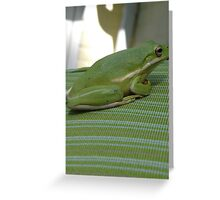 Designer Tree Frog Greeting Card