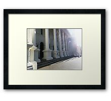 Launceston Town Hall Framed Print