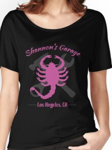 Shannon's Garage (pink) Women's Relaxed Fit T-Shirt