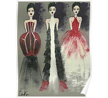 Gown Trio Poster