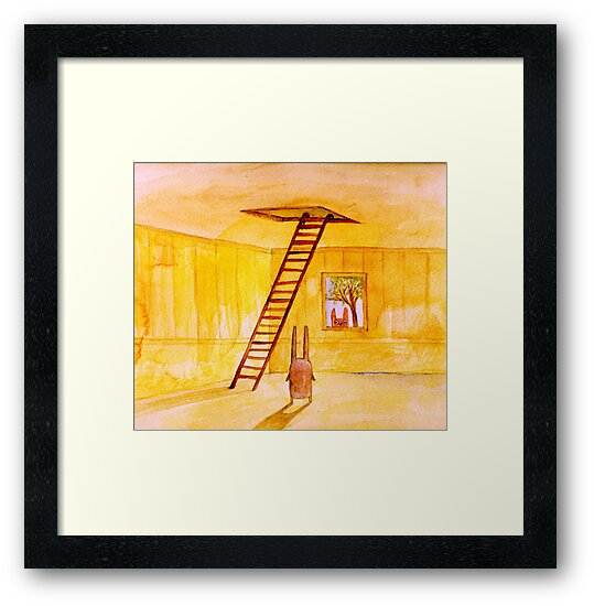 Magic Stair (illustration from the book) by Marianna Tankelevich