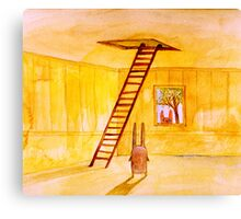 Magic Stair (illustration from the book) Canvas Print