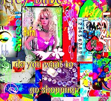 Hey Babe...want to go shopping? by artqueene