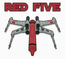 Red Five by DetourShirts