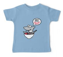 Fin's soup – Beware the shark Baby Tee