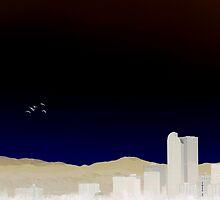 Denver Flyby by Augustina Trejo