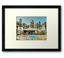 Tropical Houston Framed Print