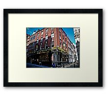 The Edgar Wallace Framed Print