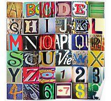 Instagram Alphabet Collection #2 Poster