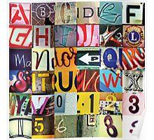 Instagram Alphabet Collection #3 Poster