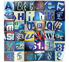 Instagram Alphabet Collection #4 Poster