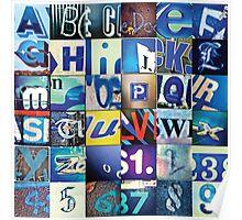 Instagram Alphabet Collection #4 Poster