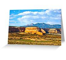 """""""Utah Color""""  Greeting Card"""