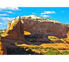 """""""Utah's Stone Sculptures"""" Photographic Print"""